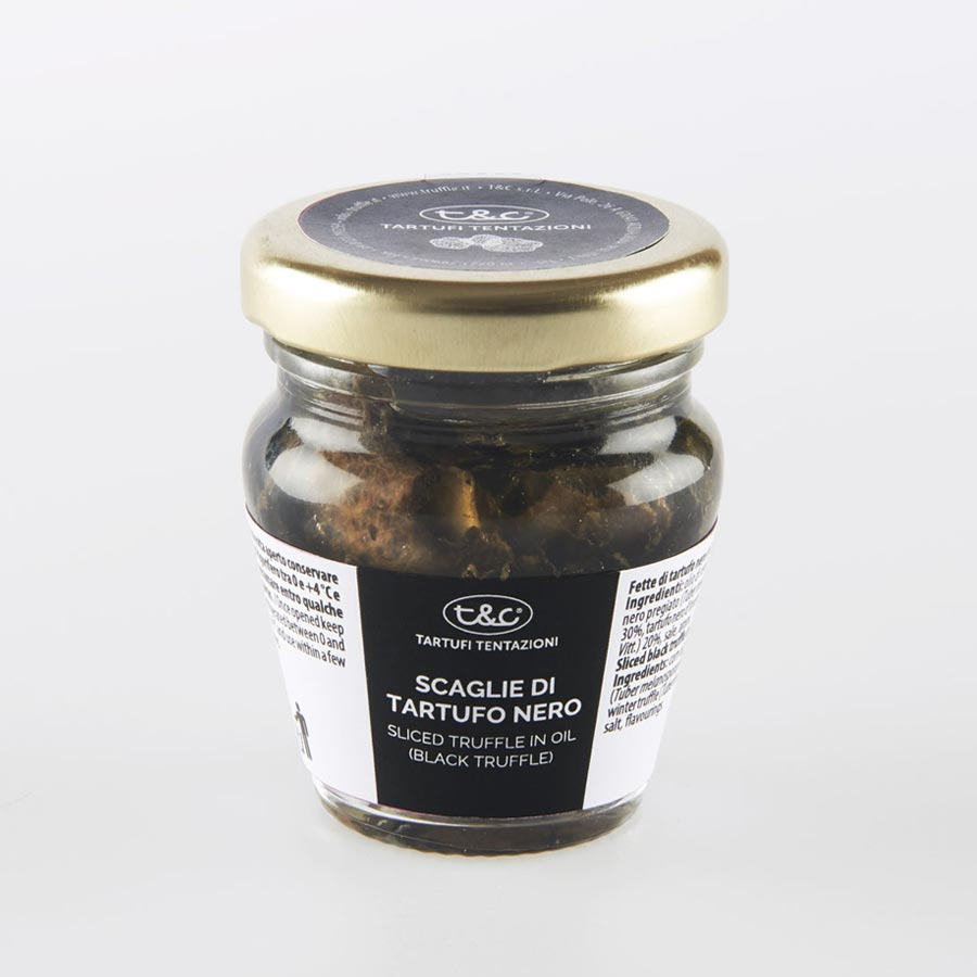 Black Sliced Truffles