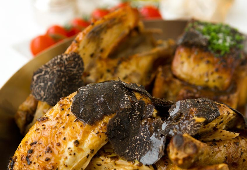 Chicken Breast With Summer Truffle