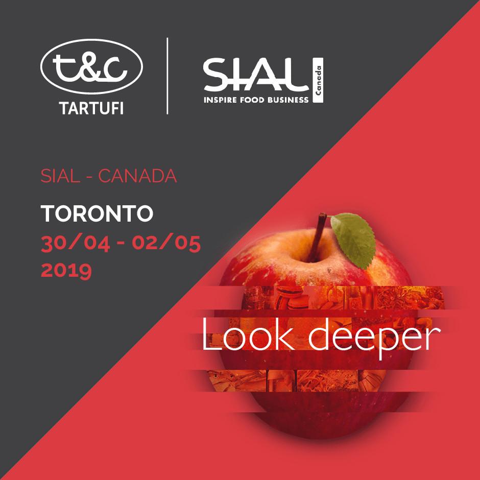 T&C Sarà Presente Alla Fiera SIAL A Toronto In Canada Dal 30 Aprile Al 2 Maggio 2019