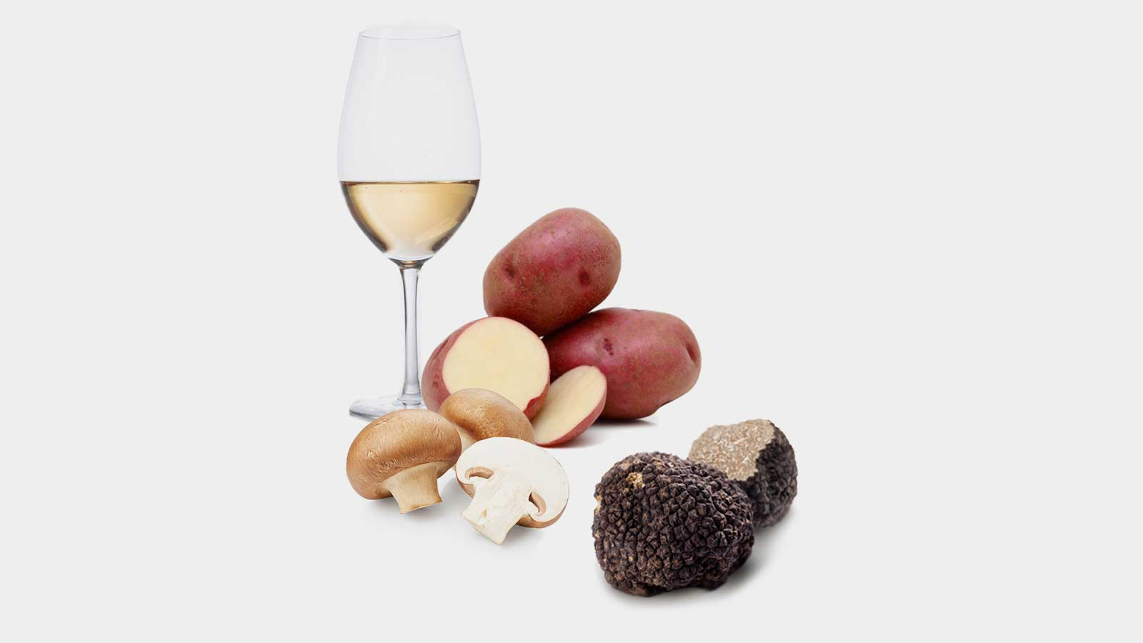 Zuppa Al Vino Bianco Di Montefalco E Tartufata