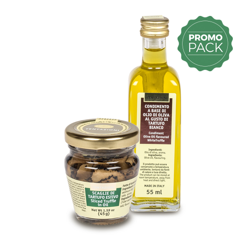 Summer Sliced Truffle In Oil + White Truffle Olive Oil Promo Pack