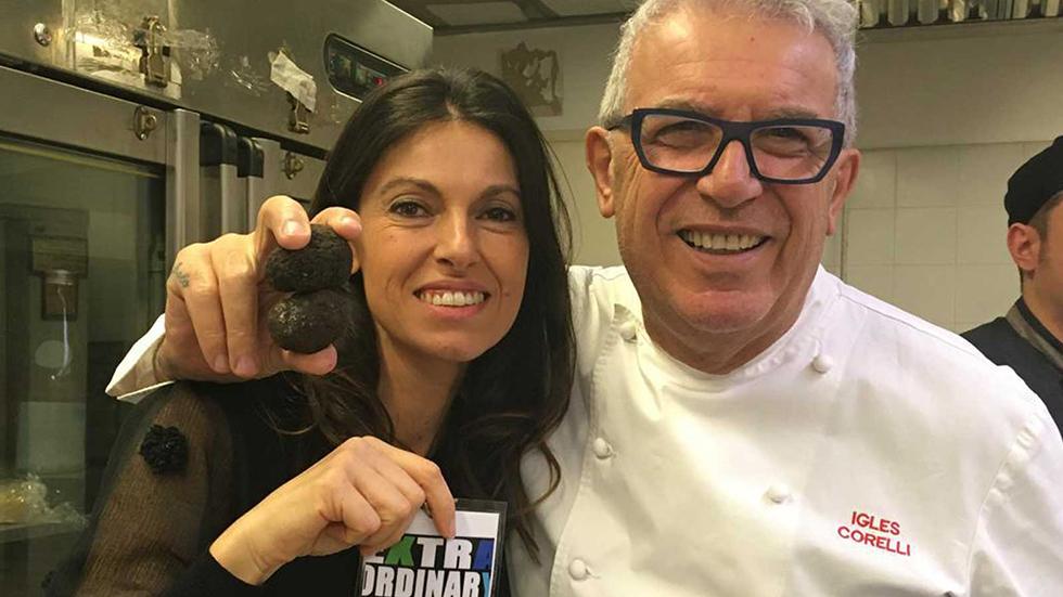 Lorenza Marchetti In Compagnia Dello Chef Igles Corelli