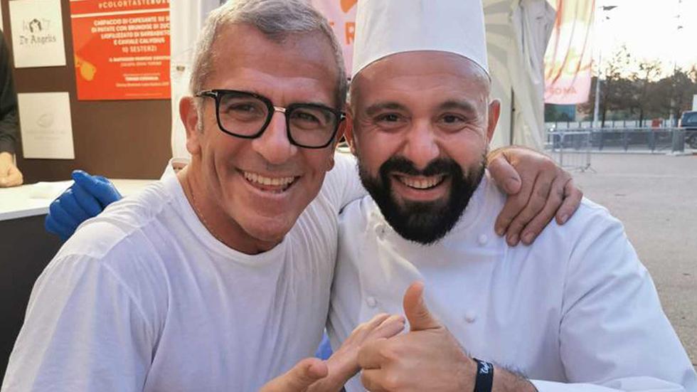 Gli Chef Max Mariola Ed Emanuele Scoccia In Fiera A Roma