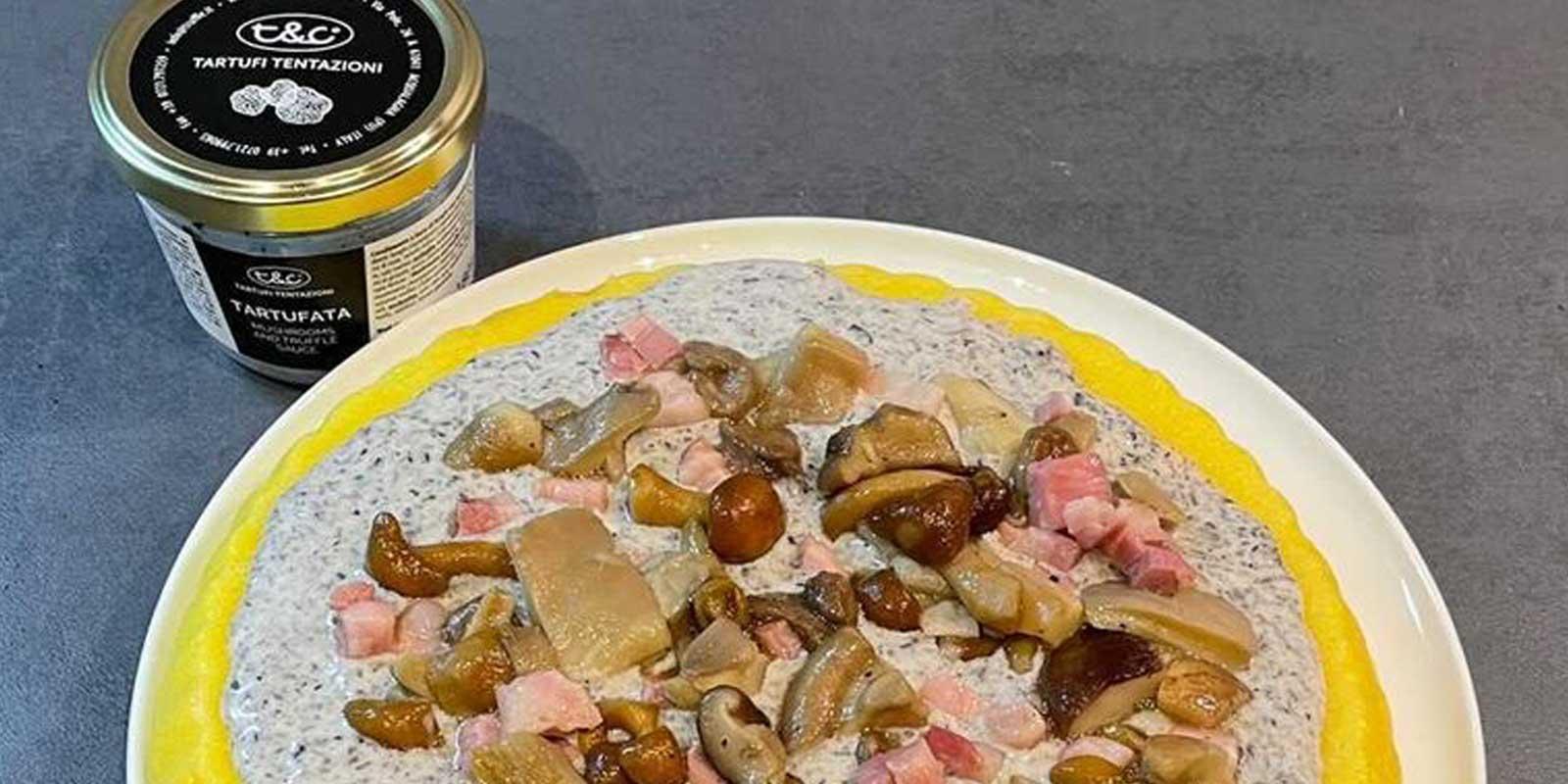 Polenta Pie With Truffle